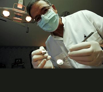 Bleka tänder tandläkare