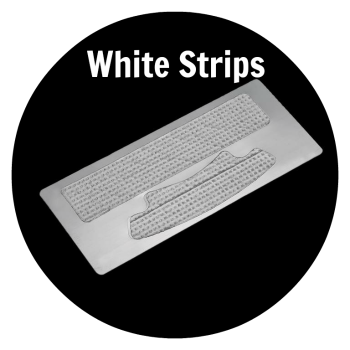 White strips tandblekningsremsor